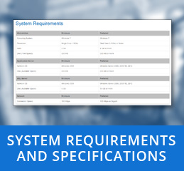 System Requirements and Specifications